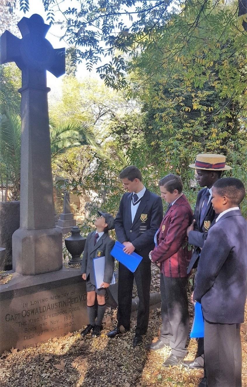 2017 Oswald Reid Grave