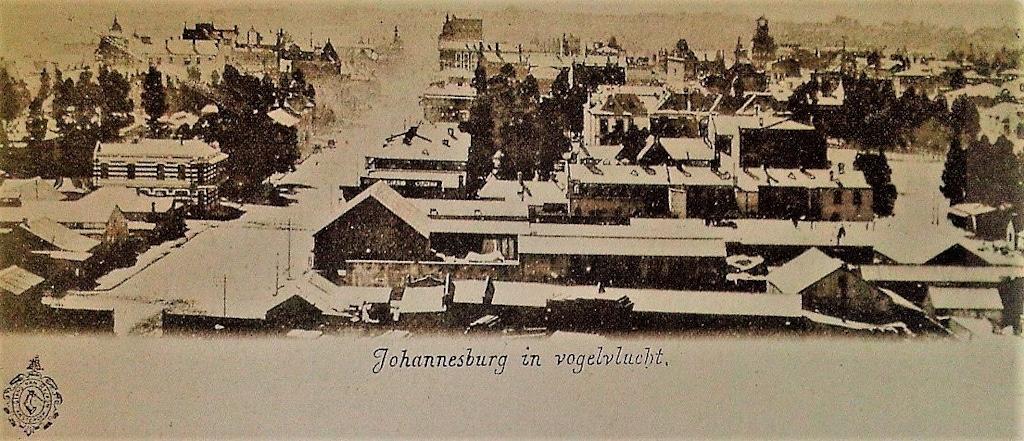 A Birds Eye View Of Joburg 1897
