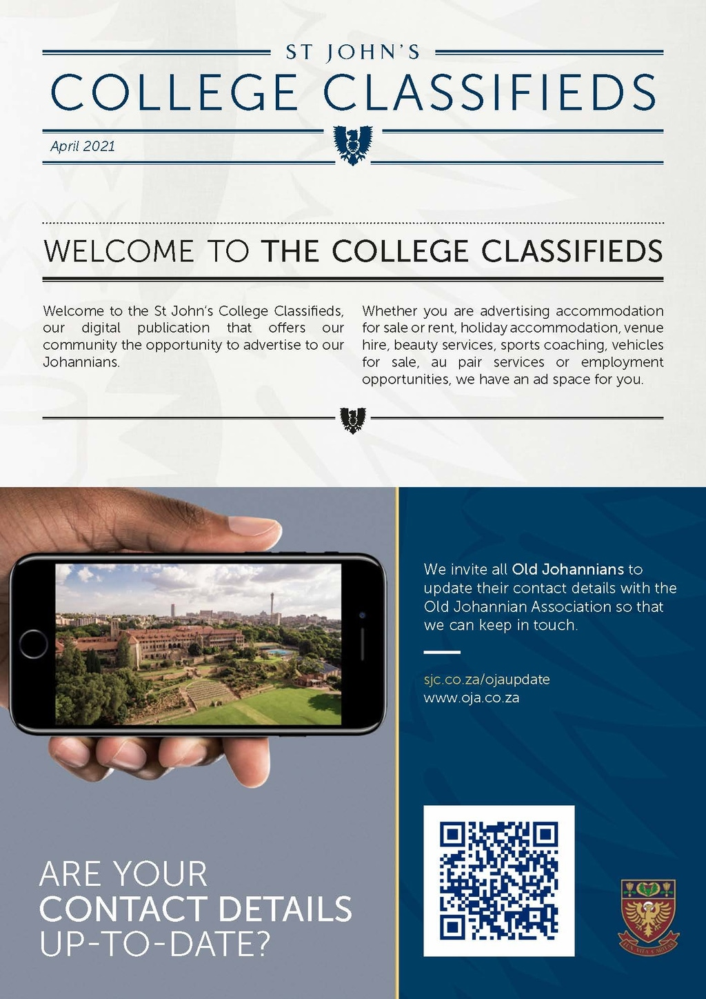 College Classifieds Apr 2021 Page 1