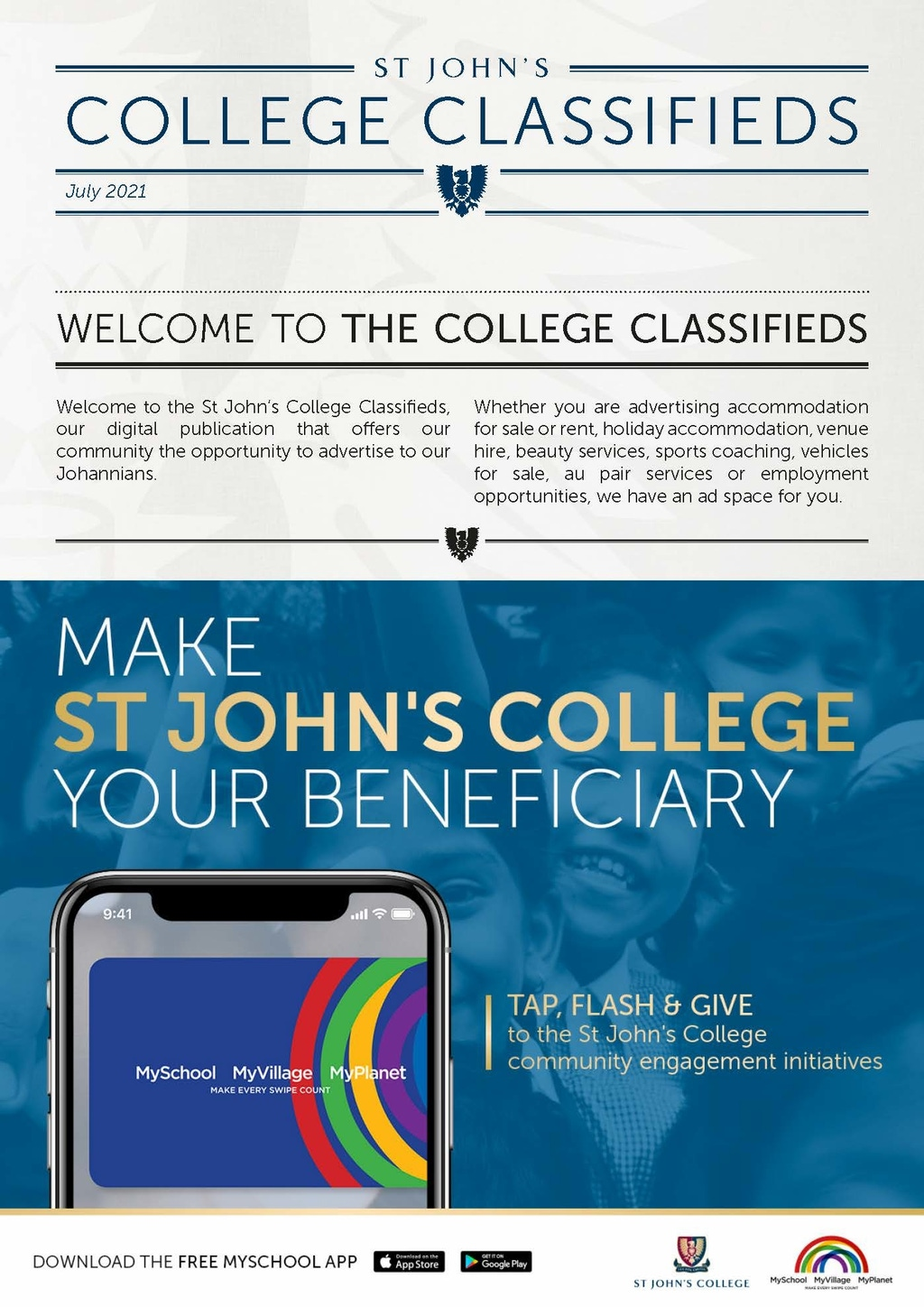 College Classifieds July 2021