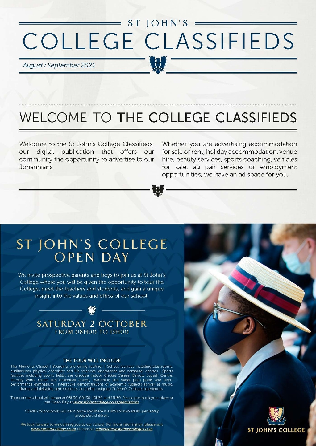 College Classifieds Sep 2021 Page 1