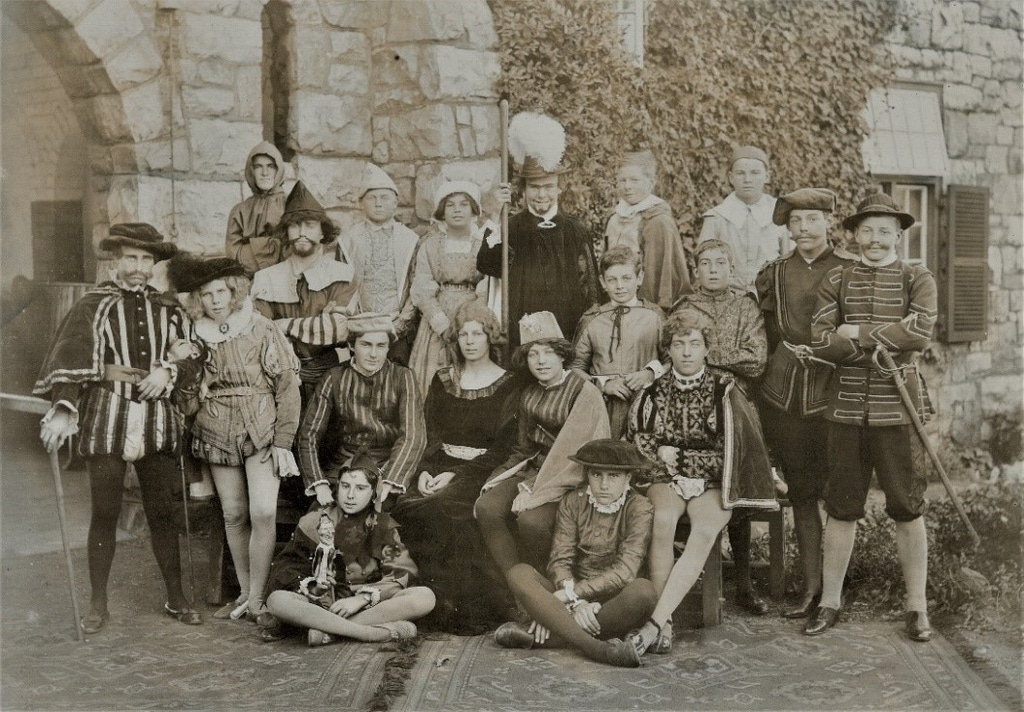 College Shakespeare Production 1920