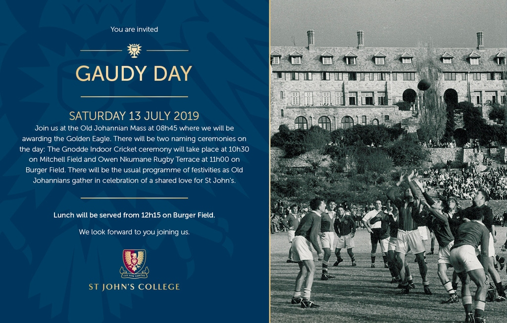 Gaudy Day Invitiation To Ojs