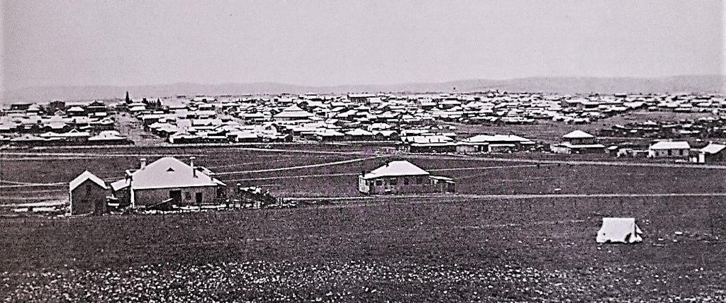 Joburg From Hospital Hill 1889