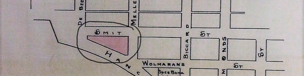 Proposed Location Of St Johns College Between Hancock Smit And Melle Streets In Braam
