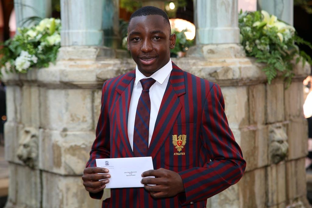 Samuel Ruwisi John Airey Memorial Prize